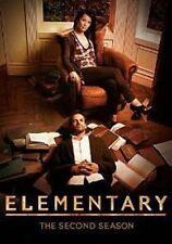 Elementary - Second Season - Series 2 - Region 2 - 6 Discs - DVD - New