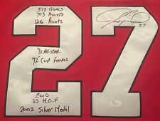 RARE Chicago Blackhawks JEREMY ROENICK JERSEY signed autograph JSA EXACT PHOTO