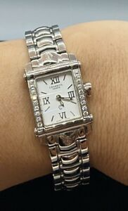 Charriol Columbus Stainless Steel Watch & Original Diamond Bezel