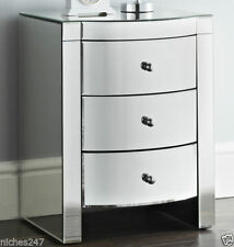 Bedroom Glass Contemporary 60cm-80cm Chests of Drawers