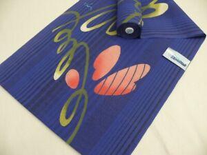 Blue-Navy Cotton Japanese YUKATA Fabric Bolt H329