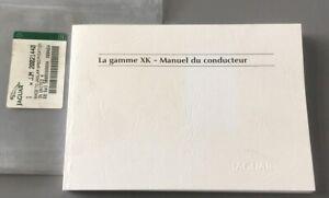 FRENCH JAGUAR XK OWNERS INSTRUCTION MANUAL DRIVERS HANDBOOK XK8 XKR 2002-2006