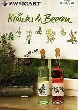 Zweigart Nr. 278 Kräuter & Beeren