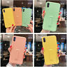 Frosted Kickstand Soft Silicone Slim Case Cover For iPhone Xs Max XR 7 8 6s Plus