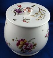 Nice Antique Faience Lidded Floral Dish French or Italian France Italy Fayence