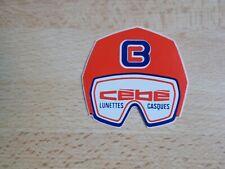 Petit autocollant vintage CÉBÉ lunettes, casques de ski