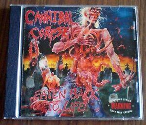 cannibal corpse - eaten back to life; CD - Black Metal ; Death Metal