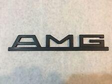 AMG Mercedes Benz Emblem Vintage Logo W126 R107 W124 SEC SEL SL E Class Badge