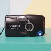 Olympus Mju ii Mint Condition & Full Working Order! Boxed W/ Case! Lomo Vintage