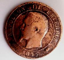 10 centimes NAPOLEON III 1855-D (chien)