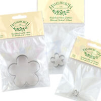 Hamilworth 5-Petal Blossom Flower Cutters- Sugarcraft Cake Decorating Metal