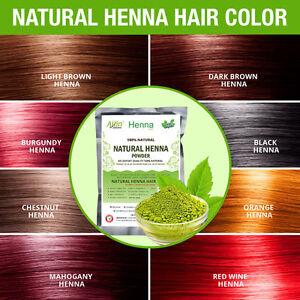 Henna Hair Color – 100% Organic and Chemical Free Henna  Hair Dye Natural ebay