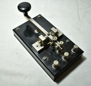 Vintage Collectible JRC KY-3A Telegraph Key-Made In Japan