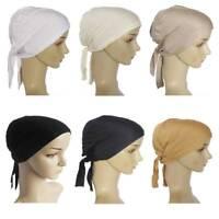 Fashion Muslim Women Lady Inner Hijab Caps Islamic Underscarf Headwear Hats