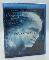 Prometheus (Blu-ray+DVD+Digital HD, 2012; 2-Disc Set) NEW