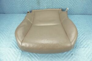 Lexus GX460 Front Passenger Seat Lower Cushion 2010-2013 Sepia Perforated OEM