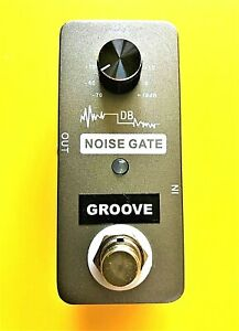 GROOVE Noise Gate NG1 guitar effects pedal with true by-pass