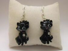 Cubic Zirconia Resin Costume Earrings