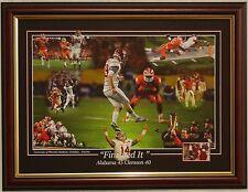 Alabama football 2015 National Championship LE framed print Saban  Henry  Coker