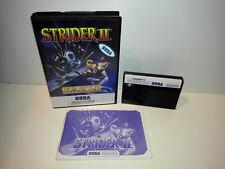 Strider 2 für Sega Master System OVP