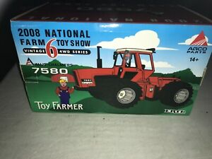 Ertl Allis-Chalmers 7580 Tractor 2008 National Farm Toy Show 1/32 Scale 29709P
