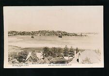 Australia SYDNEY Harbour Rose Bay c1920/30s? RP PPC Rose P6034