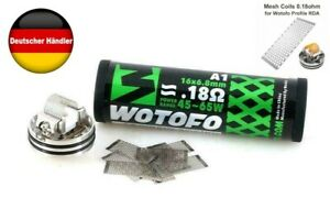 Wotofo Mesh Coil Selbstwickler Profile RDA RTA Verdampfer 0,18 Ohm ( 10pc )