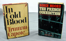 Lot of 2 books French Connection - Robin Moore - In Cold Blood - Truman Capote