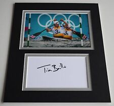 Tim Baillie Signed Autograph 10x8 photo display Olympics Slalom Canoe AFTAL COA