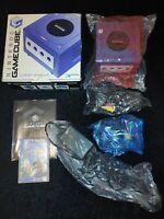 ⭐ CONSOLE NINTENDO GAMECUBE GC BOXED PURPLE + MARIO SUNSHINE JAPAN JAP NTSC-J🎌⭐