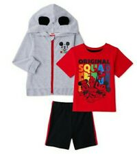 New Disney Toddler Boy Mickey Mouse 3 Piece Clothing Set - 5T
