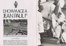 Coupure de presse Clipping 1978  Jean-Paul 1er   (10 pages)