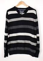 Tommy Hilfiger Herren Freizeit Pullover Sweatshirt Größe L ASZ914