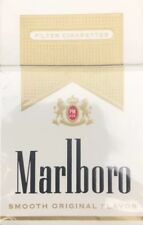 Cigarette Boxes MARLBORO LIGHTS 15 EMPTY Packs Used Tobacco Labels DIY Crafts