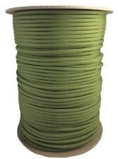 5 metros Cuerda paracord 4 mm tipo III 550 verde musgo - moss cord