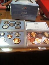 2010 United States Mint 14 Coin Proof Set w/ Box and Cert.