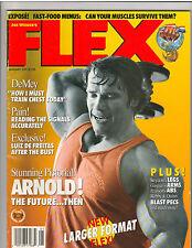 FLEX ARNOLD SCHWARZENEGGER Mr Olympia Bodybuilding Magazine 1-91