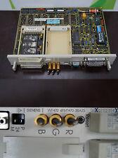 SIEMENS Simatic S5, WF470, 6FM1470-3BA25 inkl 2x Memory Module + Flash Card