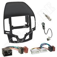 Autoradio 2-DIN Einbaurahmen Radioblende+Adapterkabel Einbauset für Hyundai i30