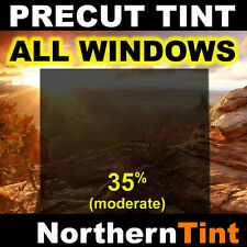 Precut Window Tint Film for Nissan Titan Crew 04-10 All 35% vlt (moderate dark)