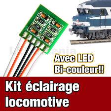 5005/1# Kit éclairage locomotive analogique LED bi couleur  - Jouef , roco, Lima