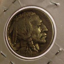 1916 U.S., Buffalo Nickel, Indian Head,5 Cents/ Nickel Copper Coin, Rare Antique