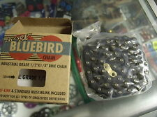 "ODYSSEY BLUEBIRD BMX-FIXED BIKE 1/2"" X 1/8"" BLACK BICYCLE CHAIN"