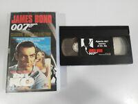 007 James Bond Agent 007 Gegen Dr Nicht Sean Connery VHS Tape Spanisch