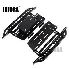 2PCS Metal Pedal & Receiver Box for 1:10 RC Axial SCX10 SCX10 II 90046 Wrangler