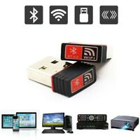 2in1 USB Bluetooth 4.0 + WIFI Adapter Wireless Dongle 150Mbps Win7/8/10 XP