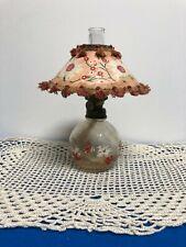 Vintage Minature Kerosene Lamp with Shade