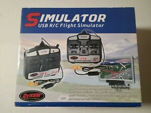 Flight Simulator Remote Control w/ Software for Helicopters Airplanes DYU-10 USB