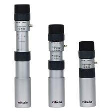 Nikula 10-30x25 Zoom Optics HD Lens Night Vision Travelling Telescope in Silver