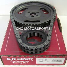 Engine Timing Set S.A. GEAR 78110-9R BB Chevy Double Roller 9 Keyway